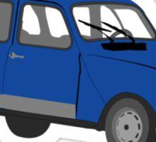 Renault 4 GTL Blue Sticker