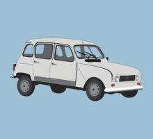Renault 4 GTL Grey Kids Clothes
