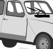 Renault 4 GTL Grey Sticker