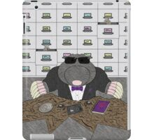 Agent Mole iPad Case/Skin