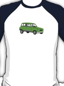 Renault 4 GTL Green T-Shirt