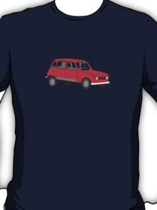 Renault 4 GTL Red T-Shirt
