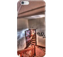 Upstairs, down stairs. iPhone Case/Skin