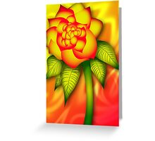 Summer Flower Greeting Card