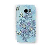 Beauty (eye of the beholder) - powder blue version Samsung Galaxy Case/Skin
