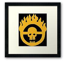 Mad Max - Fury Road Skull Framed Print