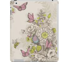 Beauty (eye of the beholder) - cream version iPad Case/Skin