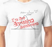 Gaussian distribution Unisex T-Shirt