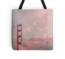 Stardust Covering San Francisco Tote Bag