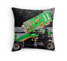 The king at work Throw Pillow