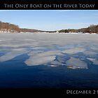 The Only Boat on Narrow River Today by John McNamara