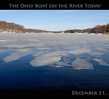 The Only Boat on Narrow River Today by John McNamara