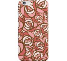 Roses pattern.  iPhone Case/Skin