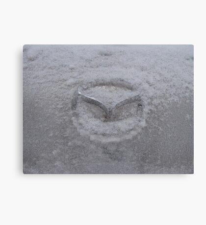 Cold Mazda Canvas Print
