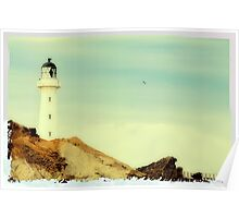 Castlepoint | New Zealand Poster