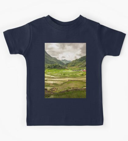 an awe-inspiring Philippines landscape Kids Tee