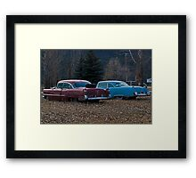 There were never such devoted sisters Framed Print