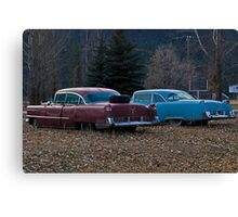 There were never such devoted sisters Canvas Print