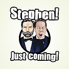 Adam and Joe: Stephen Card! 3 by StevePaulMyers