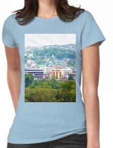 a vast Philippines landscape Womens Fitted T-Shirt