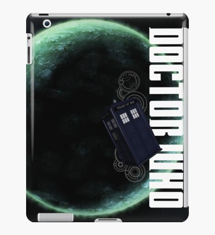 Doctor Who Slogan 2 iPad Case/Skin