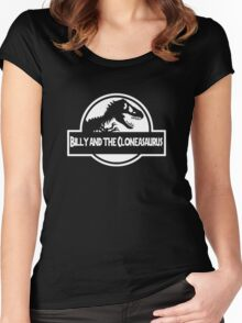 Billy And The Cloneasaurus Women's Fitted Scoop T-Shirt