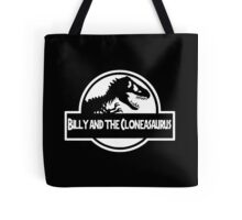 Billy And The Cloneasaurus Tote Bag