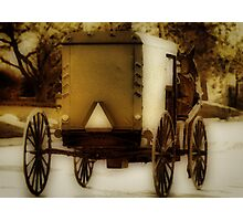 Buggying Photographic Print