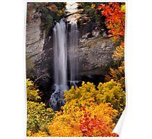 Autumn Befalling Raven Cliff 2 Poster
