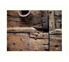 Timbers Art Print
