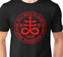 Hail Satan - Satanic Cross Unisex T-Shirt