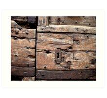 Timbers 2 Art Print