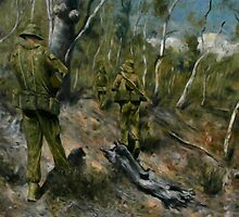 Through the Trees we March, Following in the Footsteps of our Forbears. by Julian Thompson