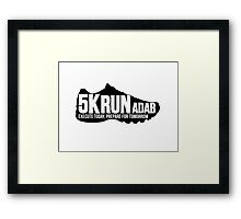 sports shoe Framed Print