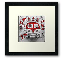 Road Trip Framed Print