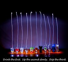 Sip the second slowly. Skip the third.  by electron