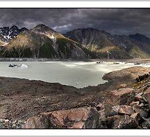 Tasman Valley Panorama by Robert Mullner