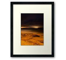 Earth, Sky, Sea Framed Print