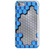 Blue Metallic Scale iPhone Case/Skin