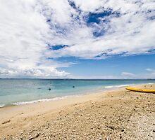 Kayak at South Sea Island, Fiji by Michelle Lia