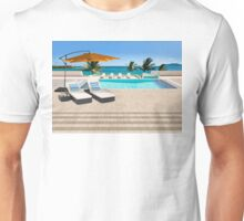 Indulgence postcard from the Seychelles Unisex T-Shirt