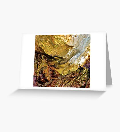 Nature's Art Canvas II Greeting Card
