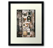Buenos Aires 8187 Framed Print