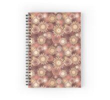 Floral retro pattern Spiral Notebook