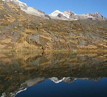 Reflecting Mountain by Craig Baron