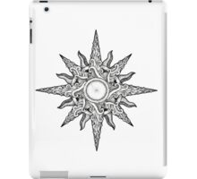 Surf in a Windrose – Compass (tattoo style) iPad Case/Skin