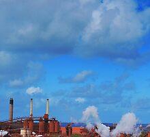 Aluminum Factory in Gladstone by Mark Malinowski