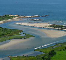 Where Narragansett Beach Ends Narrow River Begins by John McNamara