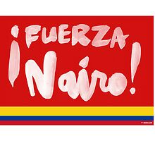 Fuerza Nairo Quintana : Colombian Flag Colors by finnllow