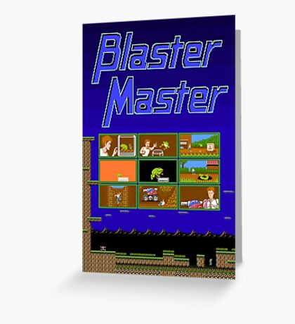 Blaster Master Greeting Card